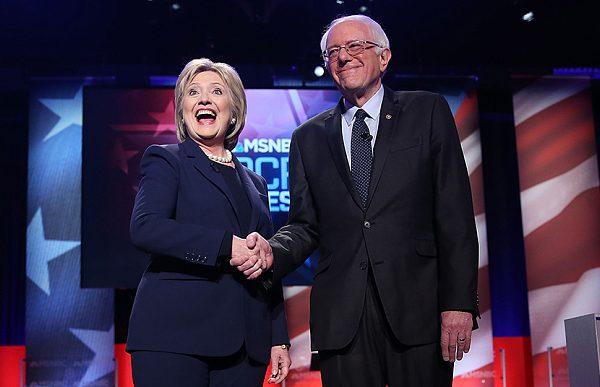 #DemDebate: Hillary And Bernie BickerFest Round 1  [Video]