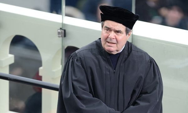 Justice Scalia: Obama Wants to Replace Him, GOP Says No