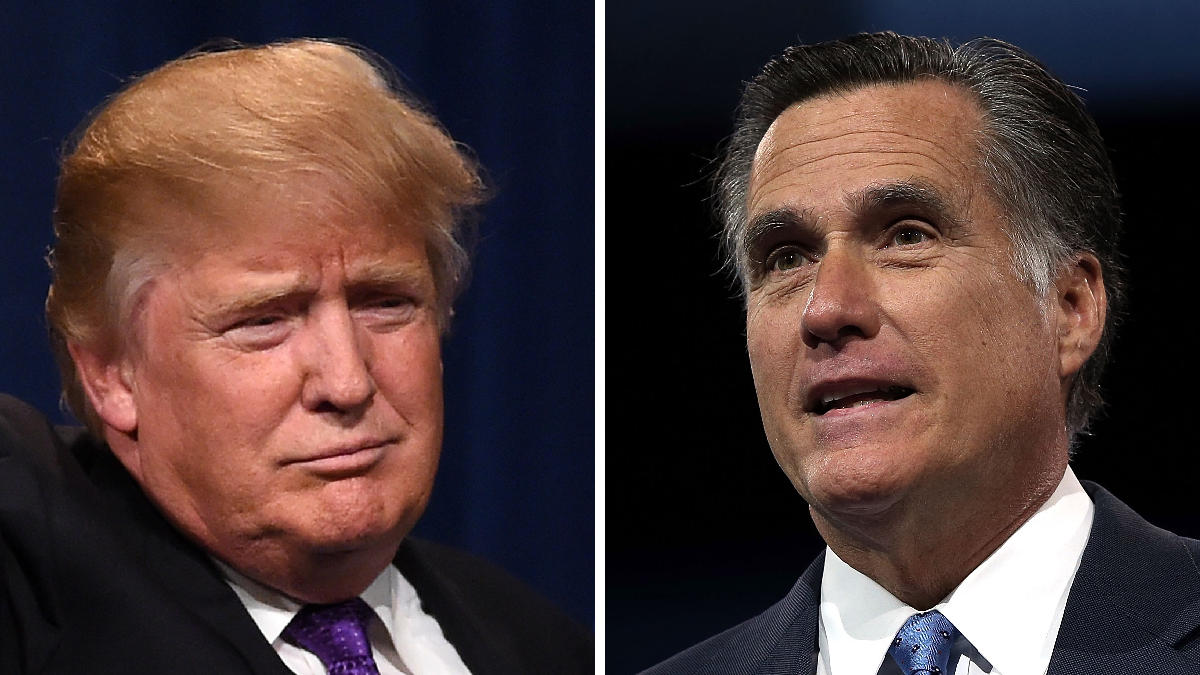 Mitt Romney Says Trump's Taxes May Include a Bombshell