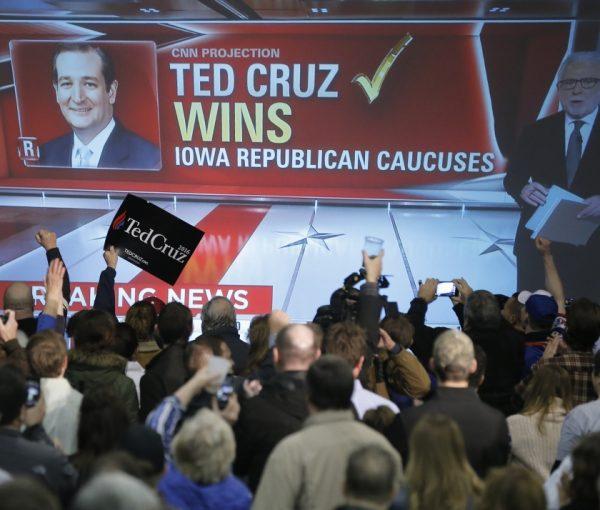 The Media Snooze for First Hispanic Caucus Winner Cruz