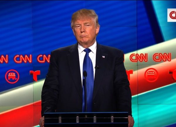 #GOPDebate: Donald Trump Blasts Frmr Mexico President Over Border Wall Remarks