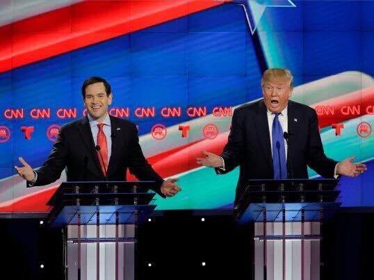 trump rubio debate