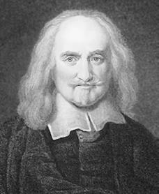 Philosopher Thomas Hobbes 1588-1679