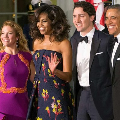 The Obamas: State Dinner Fashion Show Features