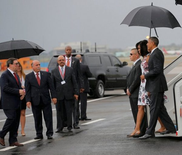 The Obamas Go To Cuba
