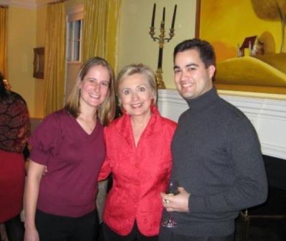 Pagliano worked on Clinton's 2008 presidential campaign before joining her at the State Dept. (Photo Credit: Zero Hedge)