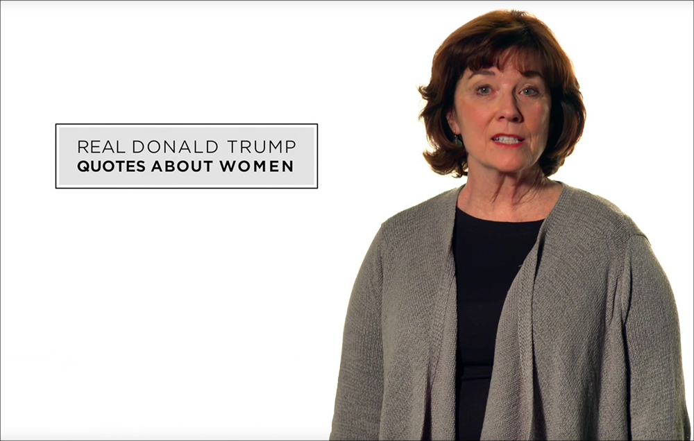 New Blistering Ad Features Real Quotes by Trump About Women [VIDEO]