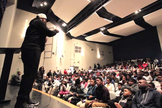 Motivational Speaker Eric Thomas's Address to High School Gets Intense [VIDEO]