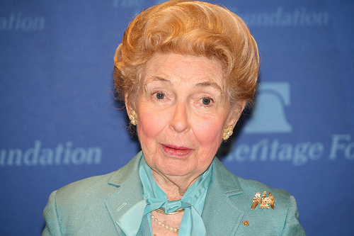 Phyllis Schlafly Wants Foreign-Born Players Out of American Baseball