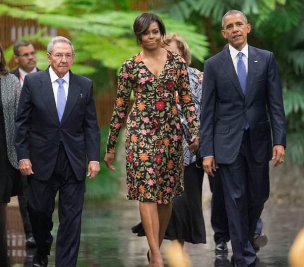 Quote of the Day: Michelle Obama Flaunts Her Wealth in Cuba