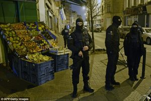 Police in Molenbeek