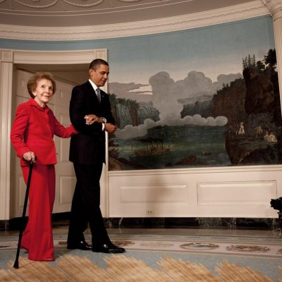 Obama Will Skip Nancy Reagan Funeral