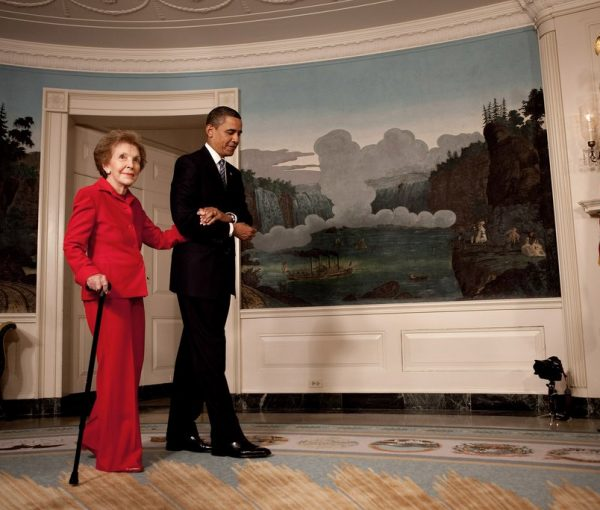 Obama Will Skip Nancy Reagan Funeral