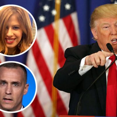 Quote of the Day: Trump is Standing by Corey Lewandowski, Calls Michelle Fields a Liar