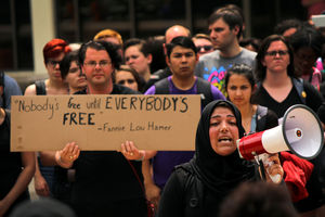 University Snowflakes Protest Lack of Diversity