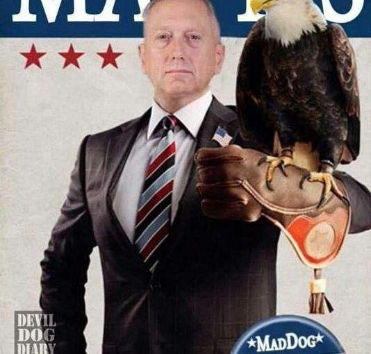 "General ""Mad Dog"" Mattis for President 2016"