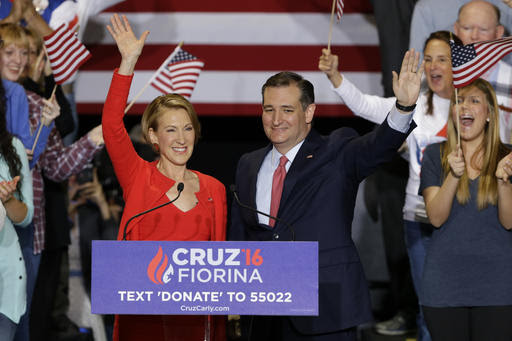 "Cruz's ""Desperate"" Carly Pick"