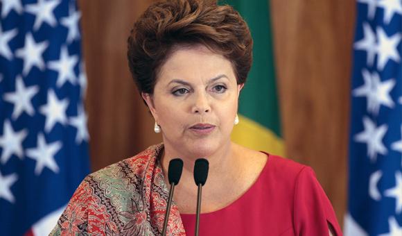 Brazilian President Dilma Rousseff, in 2013