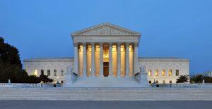 United States Supreme Court at Dusk