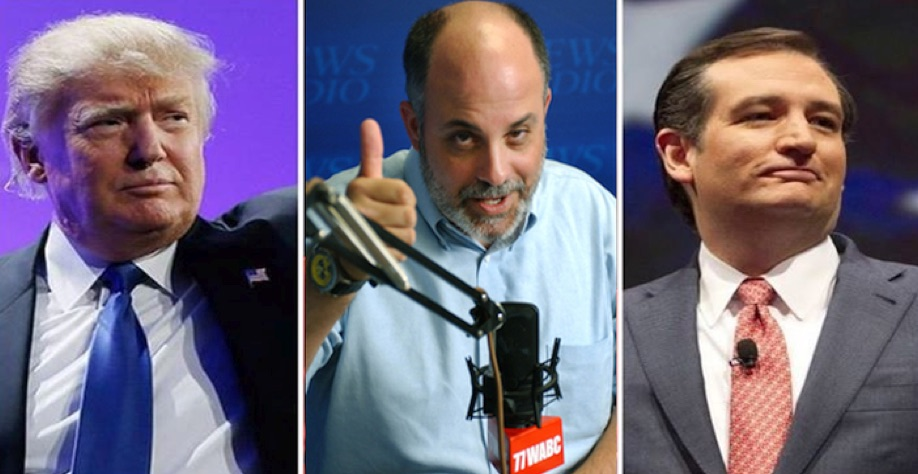 Gauntlet Thrown: Mark Levin Demands That Donald Trump Debate Ted Cruz One-on-One
