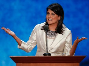 SC Governor Nikki Haley