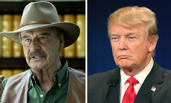 Former Mexico President Vincente Fox's Epic Twitter Rant Against Donald Trump