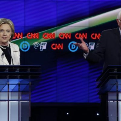 #DemDebate: Hillary And Bernie Primetime Slugfest Over Guns, Transparency, Foreign Policy, Wages