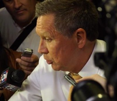 Quote of the Day: John Kasich Doesn't Appreciate Being Questioned