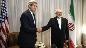 Secretary of State John Kerry and Iranian Foreign Minister Javad Zarif