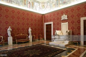 Papal Apartment, Vatican City, Photo Credit Getty Images