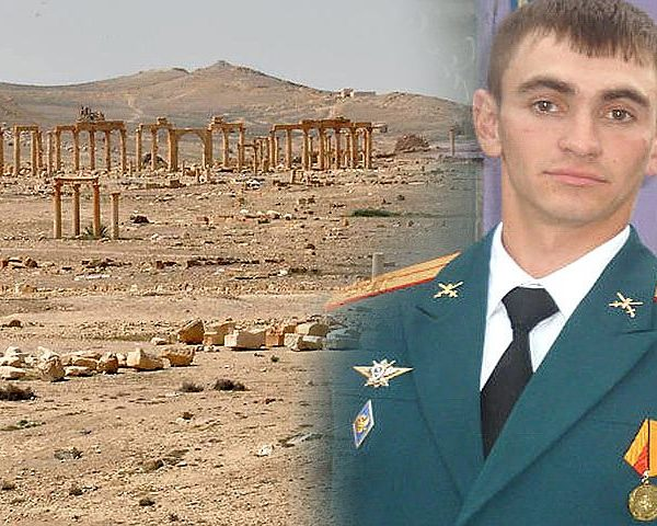 Russian Hero Calls in Airstrike on Self
