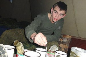 Alexander Prokherenko was a Russian Special Forces Officer, husband and father to be