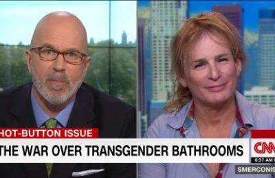 Transgender Reporter Zoey Tur on Bathroom Bill (Video)