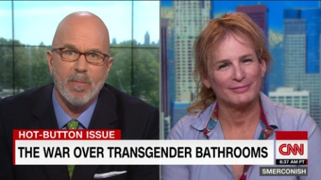 Transgender Reporter Zoey Tur on Bathroom Bill (Video)