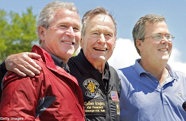 Election 2016: Presidents Bush 41 And 43 Will Not Endorse Donald Trump