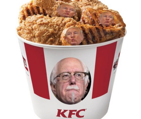 #ChickenTrump: Social Media Squawks After Donald Trump Backtracks on Debating Bernie Sanders