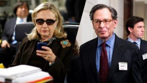 "Hillary and her ""friend"" Sidney Blumenthal"