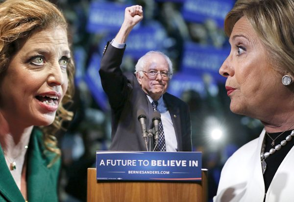 Sanders Kicks Debbie Wasserman-Schultz Under the Bus [VIDEO]