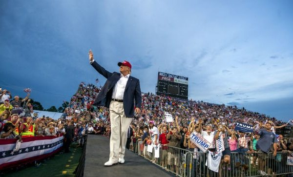 Obama Redux: Trump Wants Sports Stadium for Nomination Speech [VIDEO]
