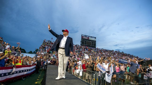 Obama Redux: Trump Wants Sports Stadium for Nomination Speech [VIDEO]