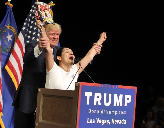 Quote of the Day: Trump Loves Hispanics!