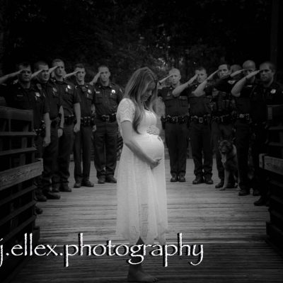 Officer Allen Jacobs's Pregnant Widow Honors Her Husband with Photo Shoot [VIDEO]