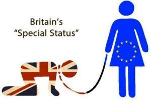 Britain is the Eurpoean Union's, um, slave.