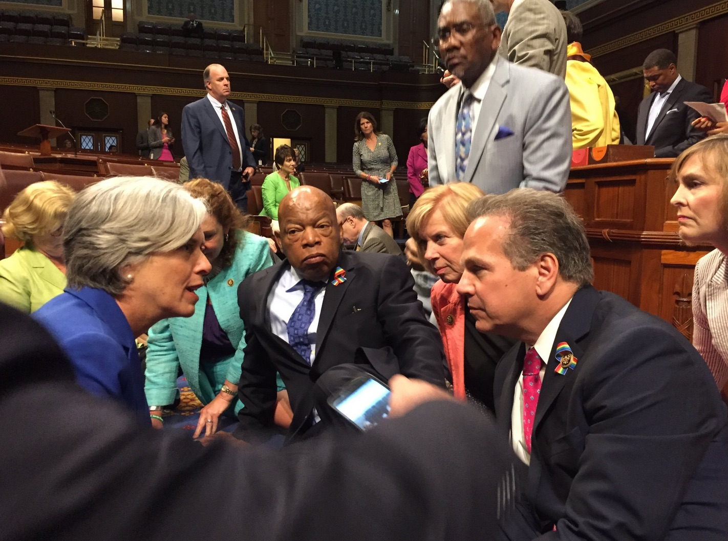 Gun Nonsense: Old Hippie Dems Stage Gun Control Sit-In on House Floor