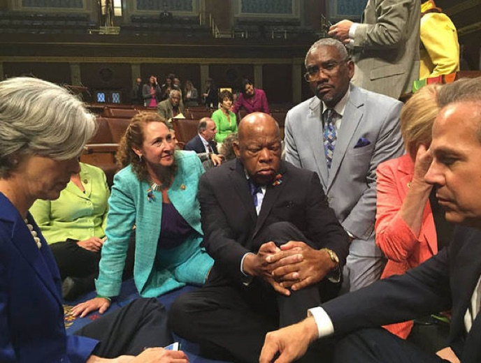 Hypocrites: 26 Dems That Held House Hostage Over Gun Control Own Firearms