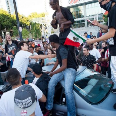 Violent Rioters Assault, Intimidate Trump Supporters at San Jose Rally [VIDEOS]