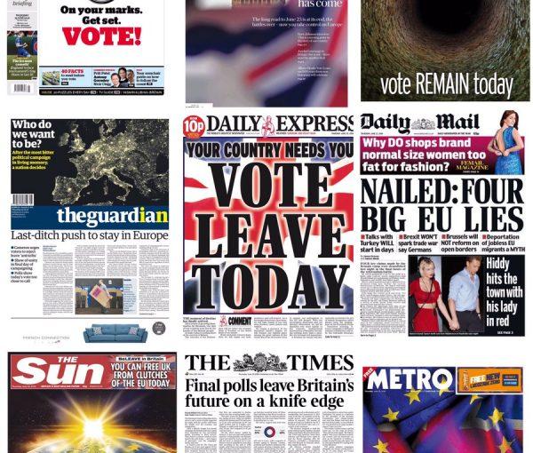 Today's British Vote May Mirror U.S. Vote