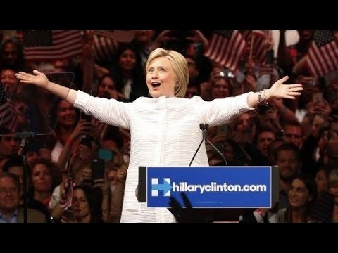 #HistoryMade and #GirlIGuessImWithHer: Hillary's Self-Serving Victory Speech and Hashtags Abound
