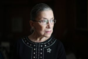 Justice Ginsberg, NYT