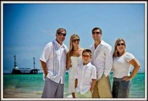 From left to right: Sean Copeland, Maegan Copeland, Brodie Copeland, Austin Copeland, Kim Copeland. Courtesy of the Copeland family